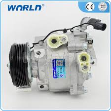 car air conditioning compressor. car air conditioner compressor pump qs90 pulley 6pk for mitsubishi lancer outlander new model aks200a402c aks200a411g conditioning 9