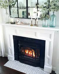 black and white fireplace tiles tile fireplace surround decor remodeling around black white fireplace tiles