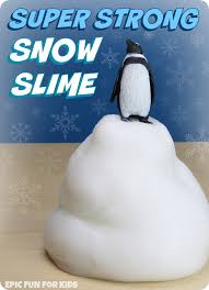 super strong snow slime recipe this snow slime has the coolest texture strong