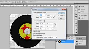 How To Design Cd Label In Photoshop Cs5 Youtube