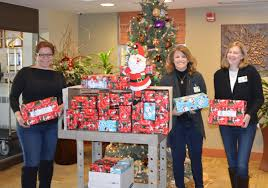 latest news business staff with gifts