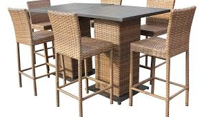 outdoor wicker chair set furniture stool teak stools covers bar barstool high table sling cushion sets
