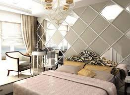 Small Picture Wall Mirrors and 33 Modern Bedroom Decorating Ideas
