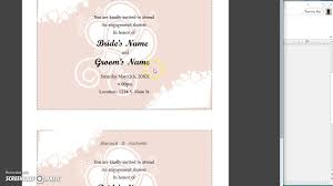 publisher 2013 mail merge names to invitation youtube Wedding Invitations For Mailing Wedding Invitations For Mailing #40 wedding etiquette for mailing invitations