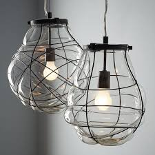blown glass pendant lights adorable fce