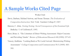 Mla Formatting For Works Cited Page How To Do A Works Cited Rome Fontanacountryinn Com