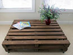 Pallet Wood Coffee Table Inspirational Old Pallet Wood Coffee Table 101  Pallets