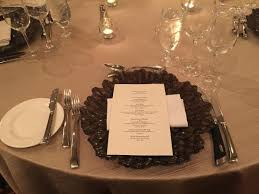 Sample Table Setting For Tasting Picture Of Four Seasons