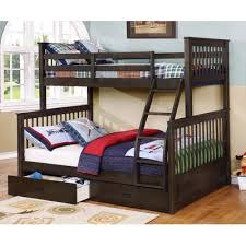 Furniture of America Finney Industrial-Inspired Twin Over Twin Metal Bunk  Bed, Black - Walmart.com