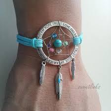 Personalized Dream Catchers Handmade Dream Catcher Bracelet Feathers Dream Anklet Personalized 19
