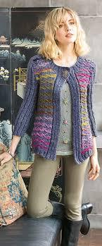 Ravelry Color Vine Cardigan Pattern By Carolyn Noyes