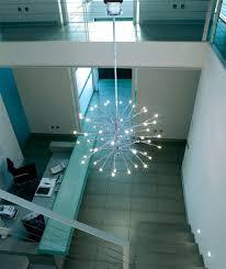 image of modern contemporary foyer lighting