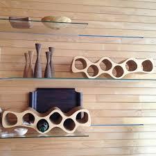 ... Wooden wine rack OTTO, elegant birch plywood - view 2 ...