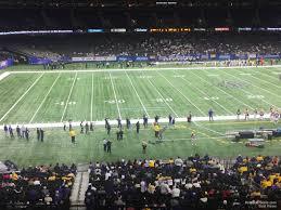 Superdome Section 339 New Orleans Saints Rateyourseats Com