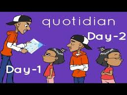 Image result for quotidian cartoon