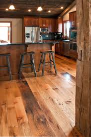 Rustic Kitchen Flooring 66 Best Images About Reclaimed Floors On Pinterest Barn Wood