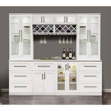 white home bar furniture. NewAge Products White Wood Shaker-style Home Bar Furniture I