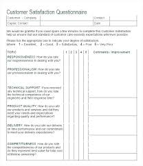 Sample Questionnaire Format For Survey Free Survey Templates Example Of Questionnaire Template