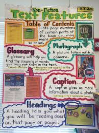 Text Features Anchor Chart Ri 2 5 Text Features Anchor Chart By B Feliciano Reading