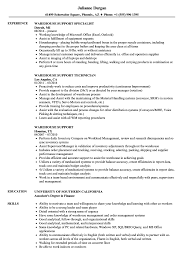 Warehouse Resume Warehouse Support Resume Samples Velvet Jobs 25