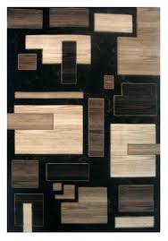 black and brown area rugs black and brown area rugs la rugs princess black brown contemporary black and brown area rugs