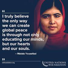 Human Rights Quotes Amazing 48 Inspiring Malala Quotes Human Rights Ambassadors Change The World