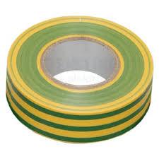 Купить <b>Изолента</b> ПВХ <b>15мм х</b> 10м желто-зеленая <b>ИЭК</b>