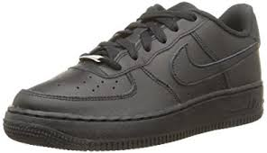 nike air force. nike air force 1 (gs), boys\u0027 sports shoes, black (black