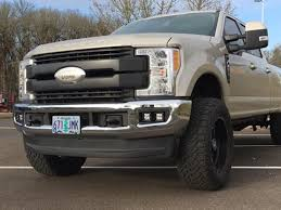 Rigid Fog Lights 2017 F250 F350 Rigid Dual Fog Light Kit