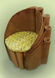 cardboard furniture design. eco friendly cardboard chair design by paulina plewik furniture a