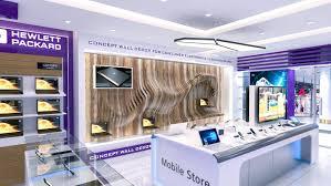 Electronic Interior Design Showroom Design By Srikanth Etip At Coroflot Com