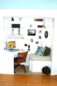 home office closet ideas. Modren Office Unique Home Office Closet Desk Ideas Unusual  Design And Home Office Closet Ideas I
