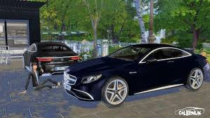 Lory Sims: Mercedes Benz S65 AMG Coupe | Sims 4, Sims, Sims 4 cc furniture