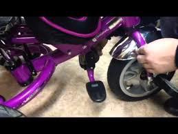 Управление подножками <b>велосипедов</b> Lexus Trike - YouTube