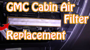 DIY How to Replace a Cabin Filter on a GMC Sierra  Chevy ...