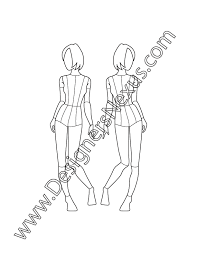 Costume Drawing Template 20 Drawing Mannequins Costume Design For Free Download On Ya Webdesign