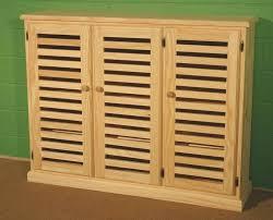 wood shoe cabinet with doors varnished oak wood shoe storage cabinet with louvers doors of bench