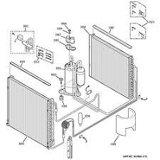 ge zoneline parts model azhdacm sears partsdirect unit parts
