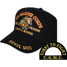 Once A Marine Always A Marine Devil Dog Once A Marine Ball Cap