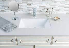 vanity sink in standard plumbing supply kohler k kathryn x standard rectangular undermount bathroom sink