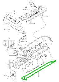 buy porsche cayenne mki cylinder head design  engine valve cover gasket cyl 1 4 porsche 955 cayenne