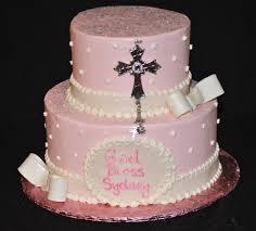 12 Baptism Cakes For Girls Photo Communion Girl Cake Girl Baptism