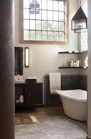 traditional bathroom decorating ideas. Floating Shelves In The Corner Above Bathtub [Design: Wolstenholme Associates] Traditional Bathroom Decorating Ideas