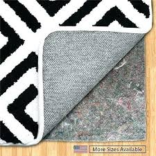 area rug pad non skid