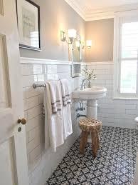 delightful vintage style bathroom tile floor design tile design jpg