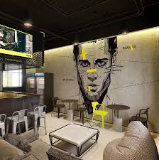 Bar Interiors Design Painting