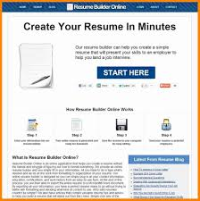 Create An Online Resume For Free Easy Resume Builder Free Free Online Resume Creator Good Free 4