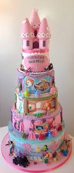 Disney Princess 1st Birthday Cake Cakecentralcom