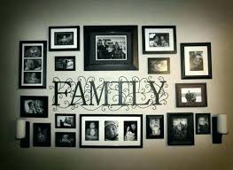 family frames tree picture frame wall decor