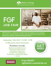 What Happens At A Job Fair Skills For Change Fgf Job Fair Hiring For Multiple Positions